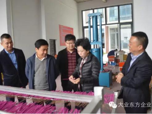 县委书记熊孙魁考察香运来科技公司